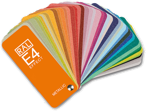 RAL E4 color fan